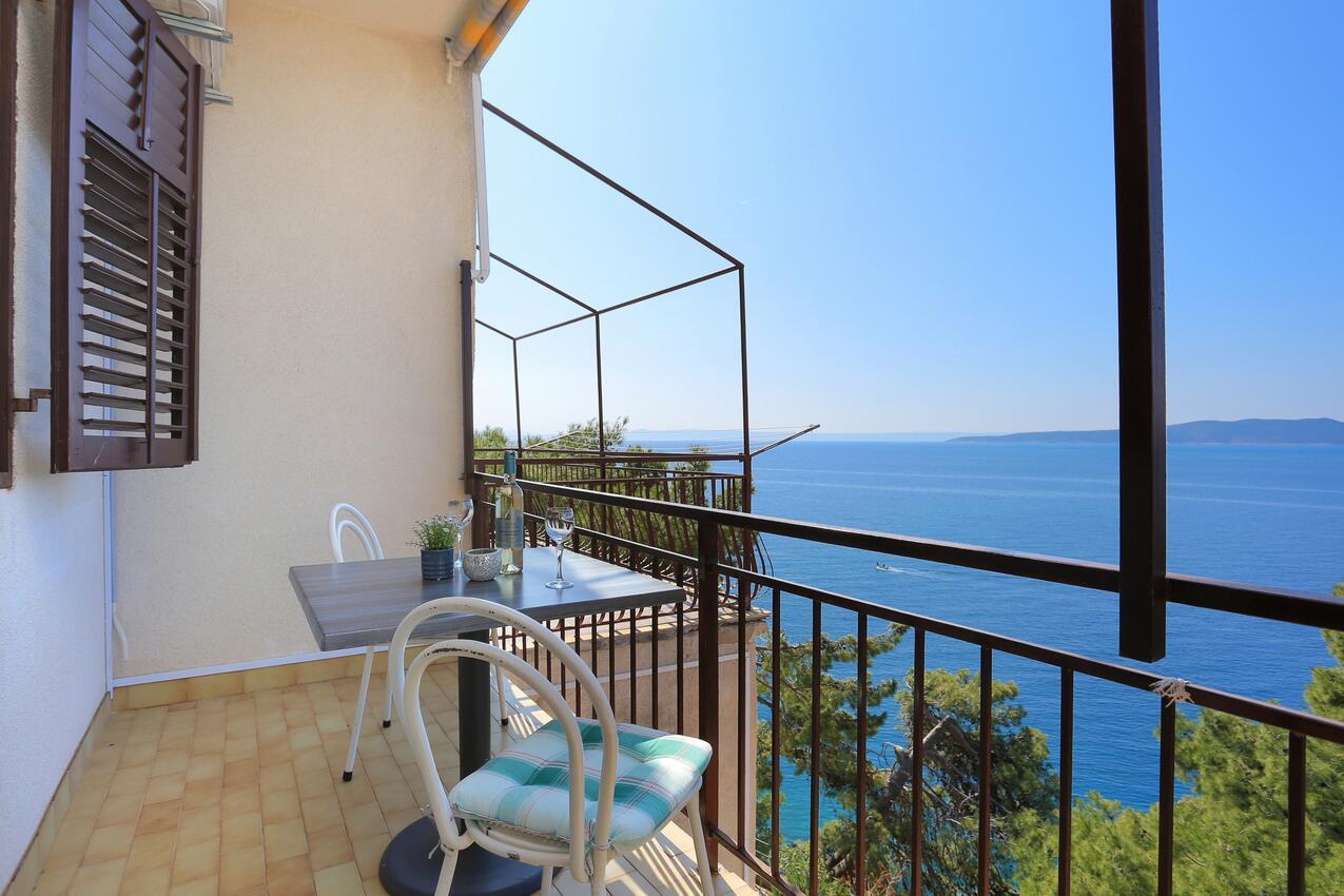 Ferienwohnung Studio Appartment im Ort Brela (Makarska), Kapazität 2+1 (2142090), Brela, , Dalmatien, Kroatien, Bild 5