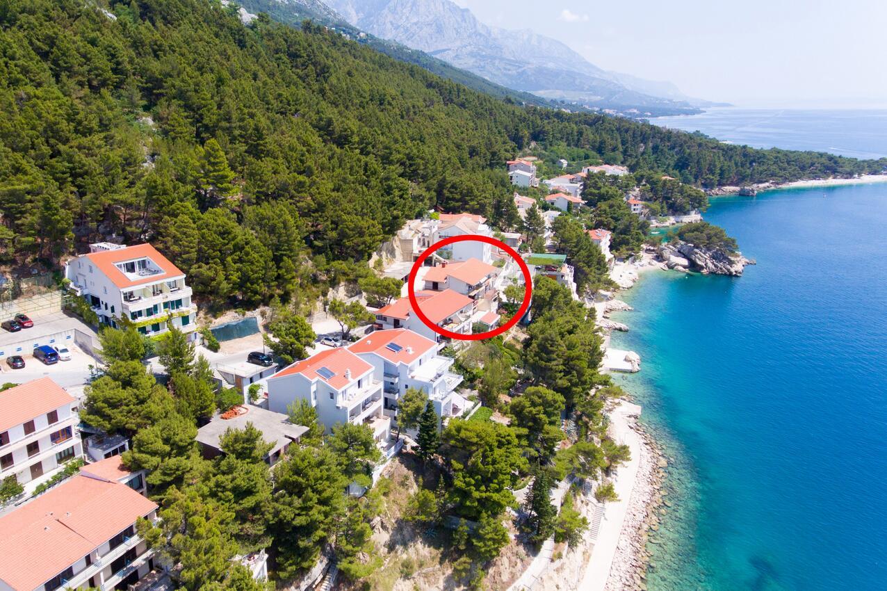 Ferienwohnung Studio Appartment im Ort Brela (Makarska), Kapazität 2+1 (2142090), Brela, , Dalmatien, Kroatien, Bild 1