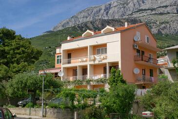 Tučepi, Makarska, Obiekt 2721 - Apartamenty przy morzu ze żwirową plażą.