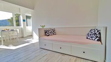 Drvenik Donja vala, Obývací pokoj v ubytování typu apartment, WiFi.
