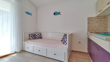 Drvenik Donja vala, Гостиная в размещении типа apartment, доступный кондиционер и WiFi.