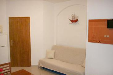 Duće, Living room in the apartment, WIFI.