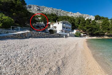 Mimice, Omiš, Property 2736 - Apartments near sea with pebble beach.