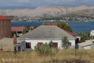 Pag, Pag, Property 278 - Rooms near sea with sandy beach.