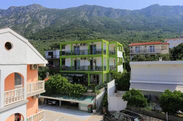 Gradac, Makarska, Obiekt 2784 - Apartamenty ze żwirową plażą.