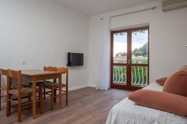 Podgora, Гостиная в размещении типа apartment, WiFi.
