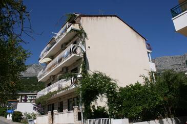 Podgora, Makarska, Objekt 2787 - Ubytování v blízkosti moře s oblázkovou pláží.