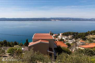 Mimice, Omiš, Property 2805 - Apartments with pebble beach.