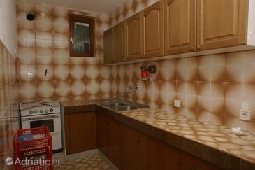 Brist, Kitchen in the apartment.
