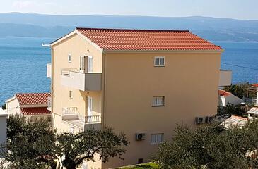 Stanići, Omiš, Объект 2824 - Апартаменты вблизи моря с галечным пляжем.