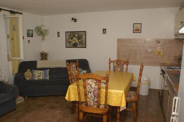 Supetar, Jadalnia w zakwaterowaniu typu apartment, dostupna klima, dopusteni kucni ljubimci i WIFI.