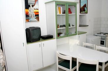 Bol, Jedáleň v ubytovacej jednotke apartment, dostupna klima, dopusteni kucni ljubimci i WIFI.