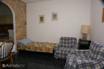 Bol, Living room in the apartment, dopusteni kucni ljubimci i WIFI.