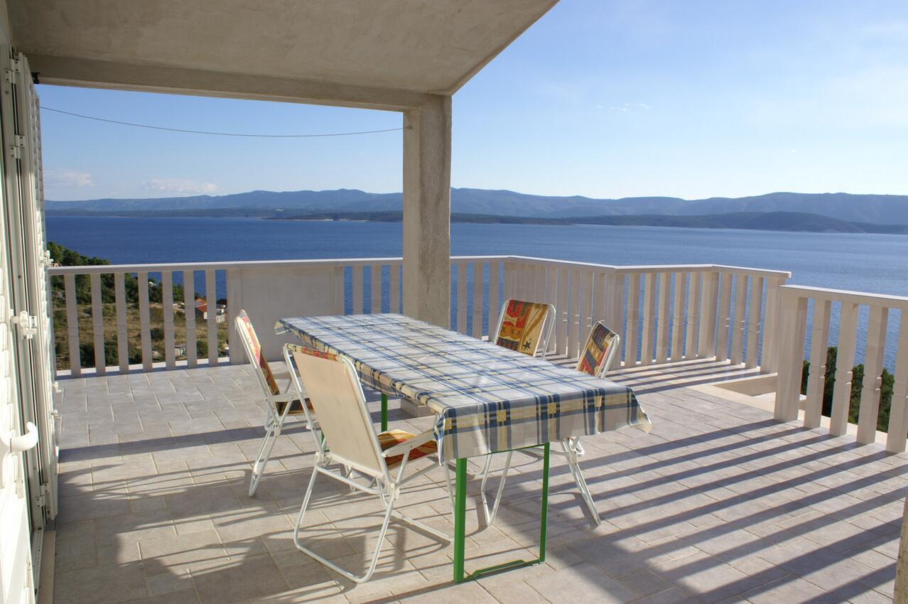 Appartement de vacances im Ort Vela Farska (Bra), Kapazität 4+1 (2142021), Nerezisca, Île de Brac, Dalmatie, Croatie, image 1