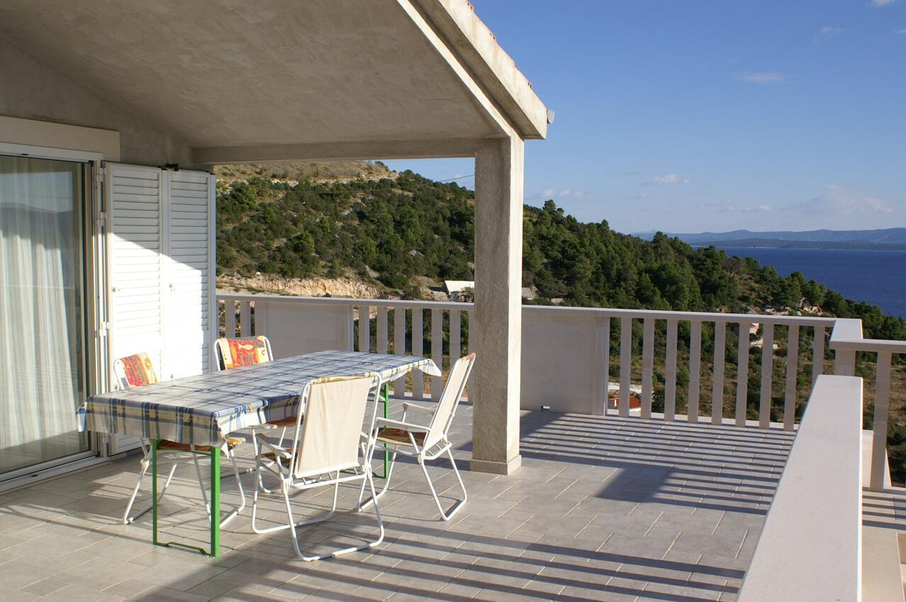 Appartement de vacances im Ort Vela Farska (Bra), Kapazität 4+1 (2142021), Nerezisca, Île de Brac, Dalmatie, Croatie, image 11