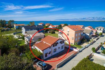 Nin, Zadar, Property 290 - Apartments near sea with sandy beach.