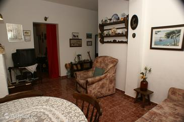 Mirca, Woonkamer in the apartment, air condition available, (pet friendly) en WiFi.