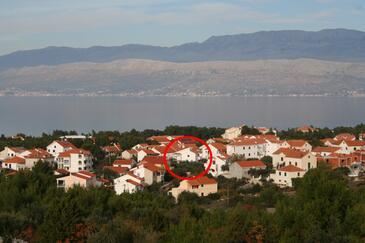 Supetar, Brač, Obiekt 2903 - Apartamenty ze żwirową plażą.