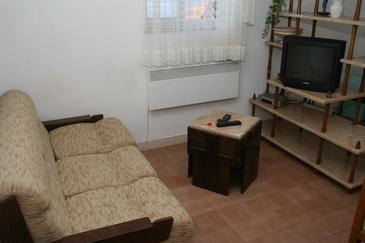 Postira, Living room in the apartment, WIFI.