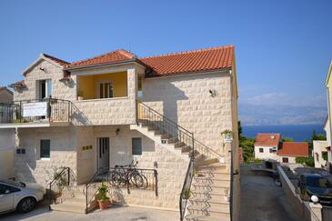 Postira, Brač, Property 2910 - Apartments with pebble beach.