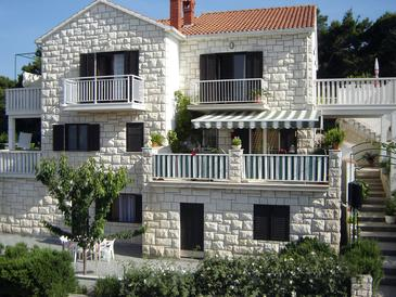 Postira, Brač, Property 2914 - Apartments with pebble beach.