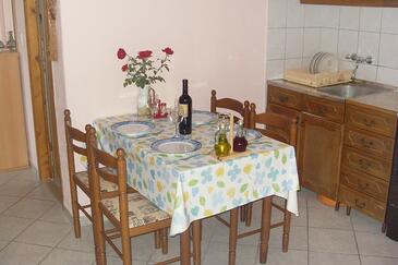 Povlja, Jadalnia w zakwaterowaniu typu apartment, WIFI.