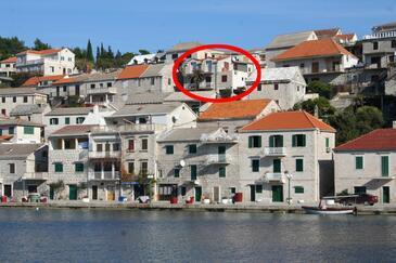 Povlja, Brač, Obiekt 2933 - Apartamenty przy morzu.