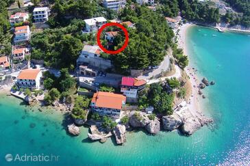 Mimice, Omiš, Objekt 2972 - Ubytování v blízkosti moře s oblázkovou pláží.