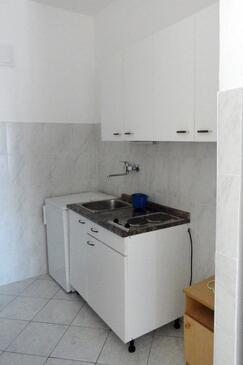 Lokva Rogoznica, Kuchyně v ubytování typu studio-apartment, WiFi.