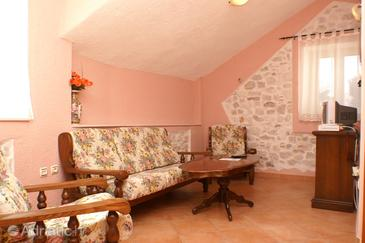 Trogir, Living room in the room, dostupna klima, dopusteni kucni ljubimci i WIFI.