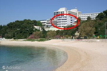 Split, Split, Objekt 2983 - Apartmani blizu mora sa šljunčanom plažom.