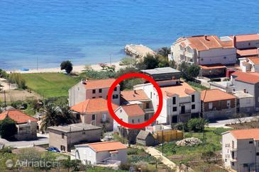 Podstrana, Split, Property 2988 - Vacation Rentals near sea with pebble beach.