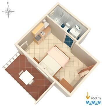 Dovolen chorvatsko ubytov n apartm n d m hotel for Apartment wifi plans
