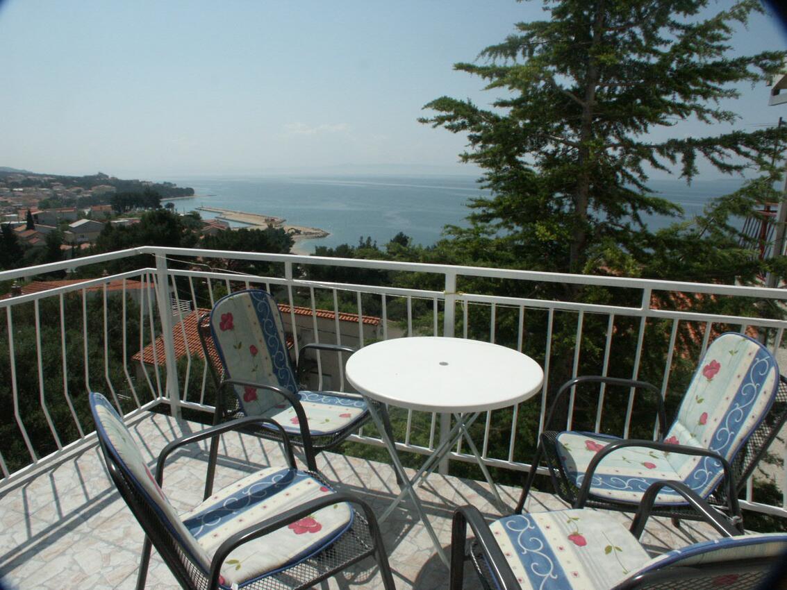 Ferienwohnung im Ort Ba ka Voda Makarska Kapazität 2 2