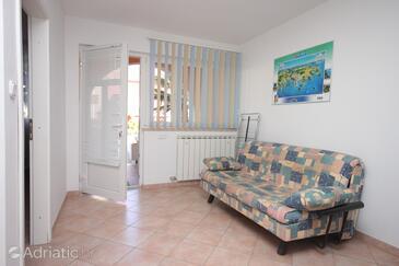 Vrsar, Camera de zi în unitate de cazare tip apartment, aer condiționat disponibil, animale de companie sunt acceptate şi WiFi.