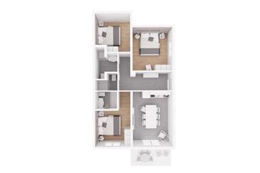 Rabac, Plan kwatery w zakwaterowaniu typu apartment, dopusteni kucni ljubimci i WIFI.