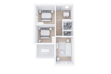 Rabac, План в размещении типа apartment, dopusteni kucni ljubimci i WIFI.