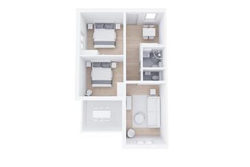 Rabac, Plan kwatery w zakwaterowaniu typu apartment, zwierzęta domowe są dozwolone i WiFi.