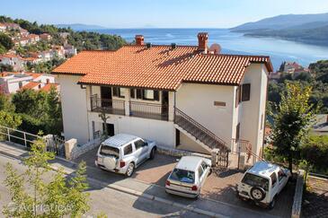 Rabac, Labin, Objekt 3015 - Ubytování s oblázkovou pláží.