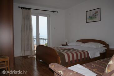 Klenovica, Спальня в размещении типа room, доступный кондиционер и WiFi.