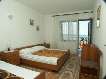 Crikvenica, Bedroom in the room, dopusteni kucni ljubimci i WIFI.