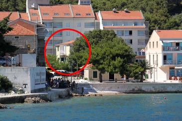 Drvenik Donja vala, Makarska, Property 303 - Apartments near sea with pebble beach.
