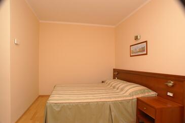 Tučepi, Sypialnia w zakwaterowaniu typu room, WIFI.