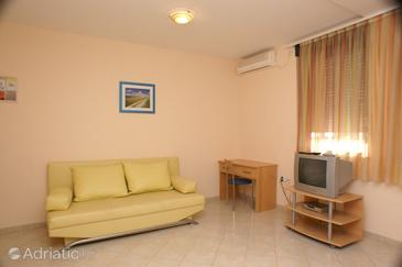Trogir, Living room in the apartment, WIFI.