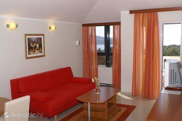 Seget Vranjica, Гостиная в размещении типа apartment, доступный кондиционер, Домашние животные допускаются и WiFi.