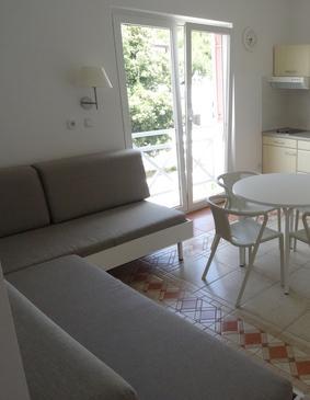 Šimuni, Living room in the apartment, dostupna klima, dopusteni kucni ljubimci i WIFI.
