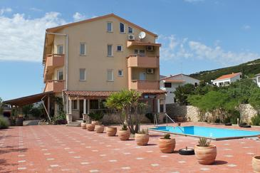 Stara Novalja, Pag, Property 3083 - Apartments with sandy beach.