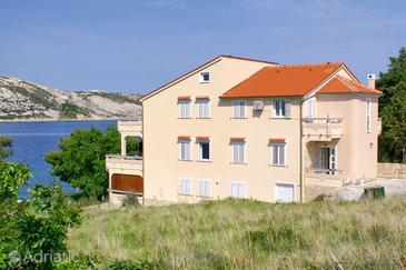 Stara Novalja, Pag, Objekt 3086 - Ubytování v blízkosti moře.