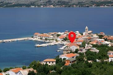 Vinjerac, Zadar, Objekt 3093 - Ubytování v blízkosti moře s písčitou pláží.