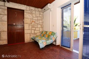 Račišće, Living room in the room, dostupna klima, dopusteni kucni ljubimci i WIFI.